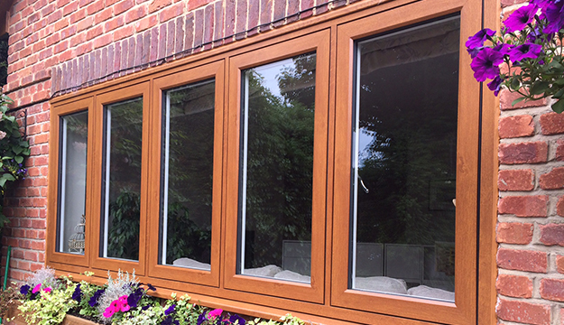 newly fitted casement windows