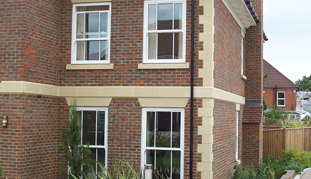 newly fitted sash windows